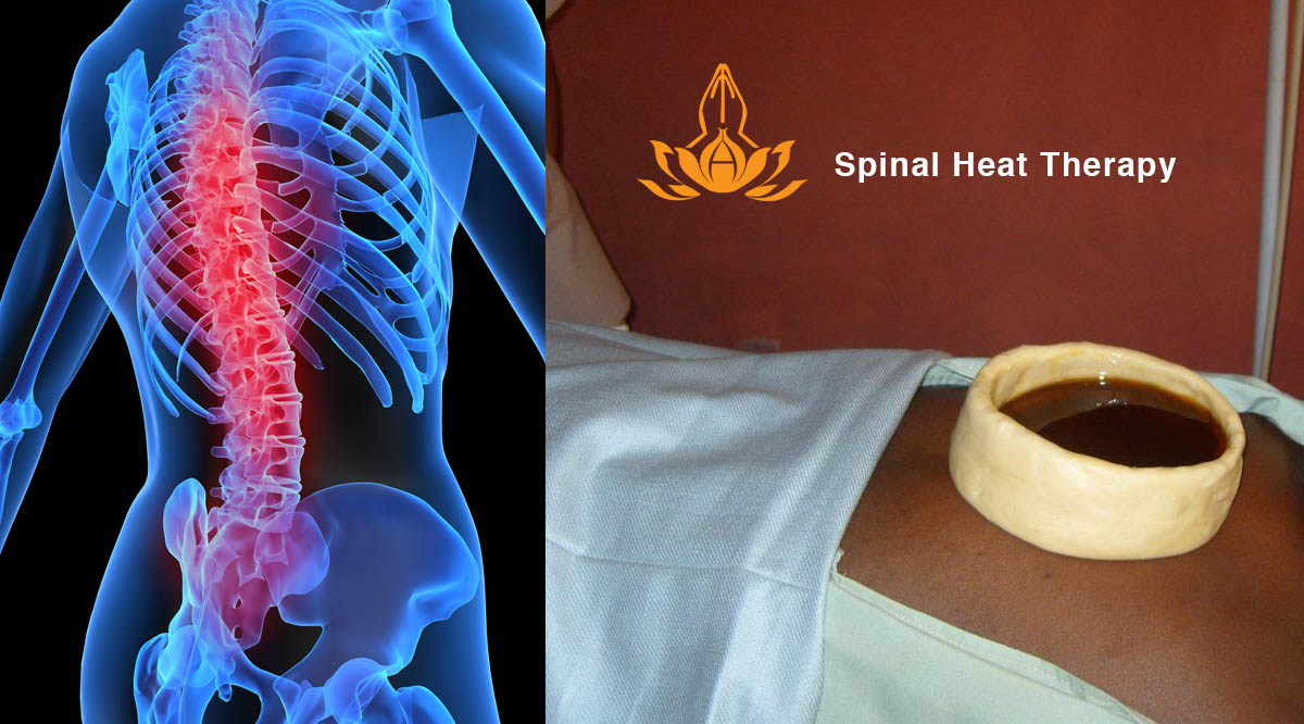 Spinal heat therapy in Ayurveda